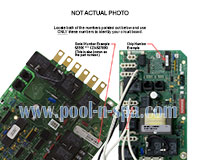 Coleman Spas ELE09100243 Circuit Board COLE2PCER1(x), Cal Spa
