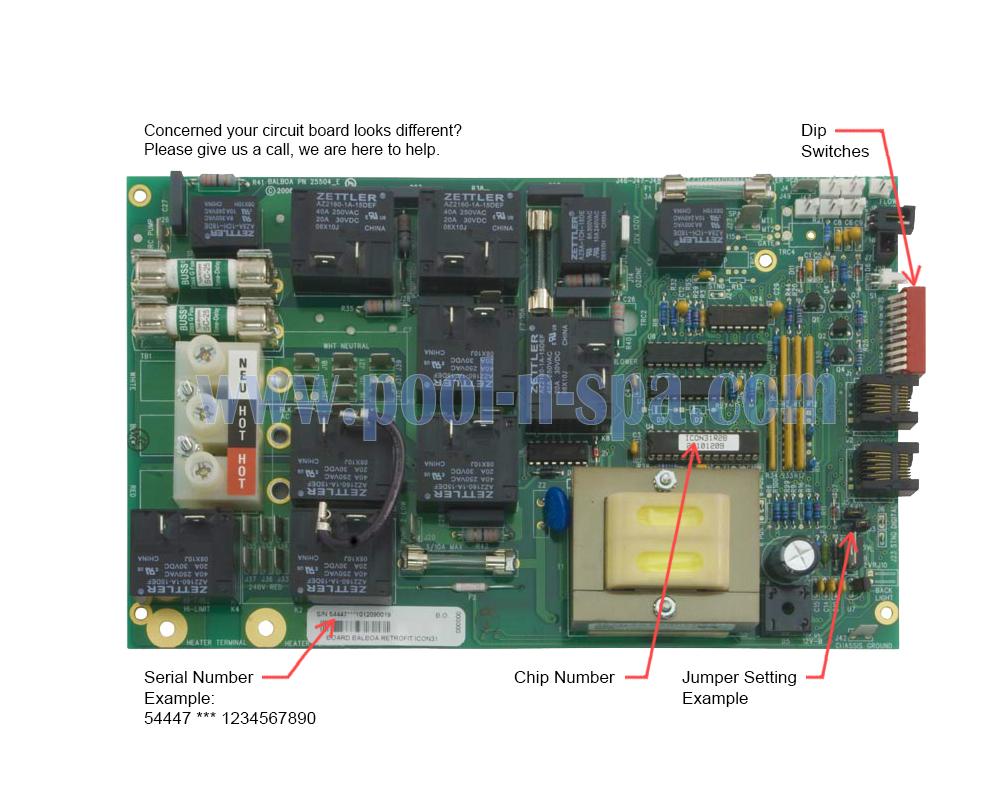 Balboa 54447 Circuit Board ICON31R2(x), Icon Spas on balboa control diagram, balboa control panel, balboa schematic, spa diagram, balboa heater,