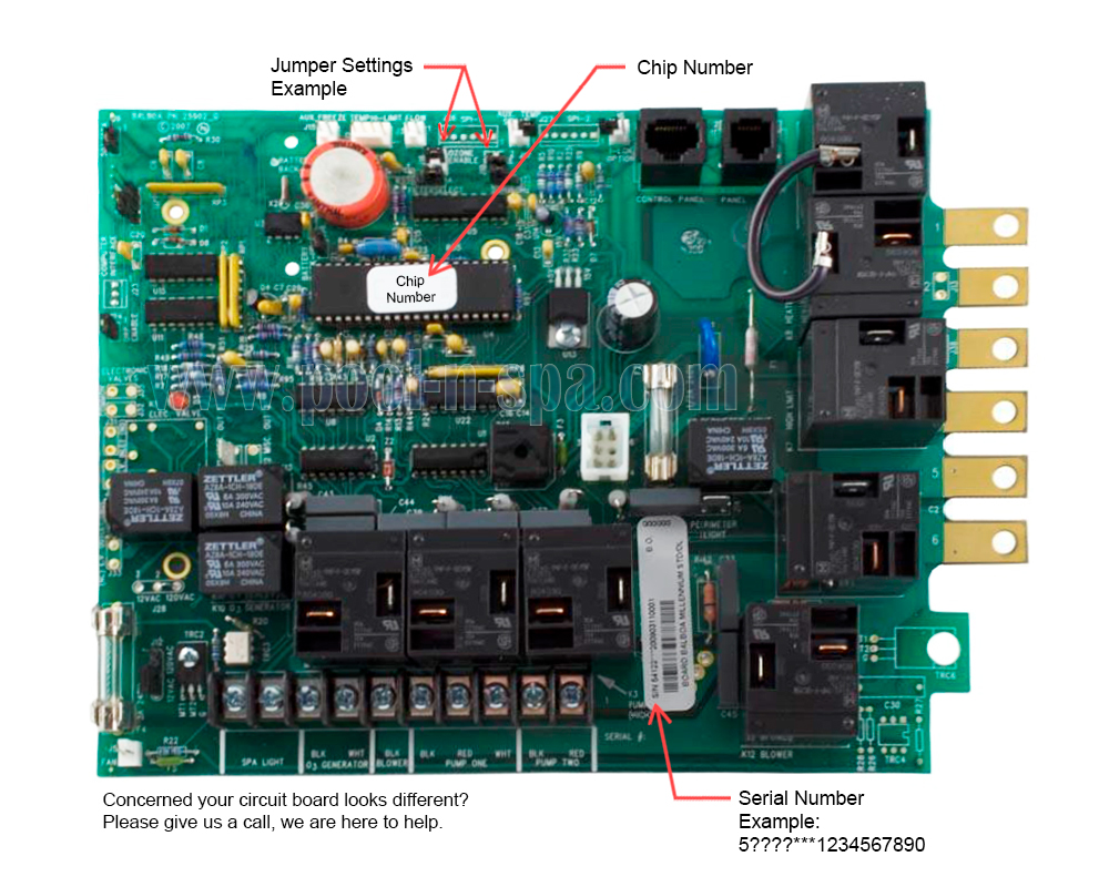 Balboa 51168 Circuit Board Alt Replacement - Click Image to Close