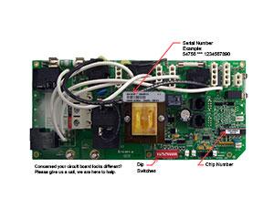 balboa 54756 circuit board cs5100r1(x), cal spa ele09907280 Speaker Wiring Parallel or Series